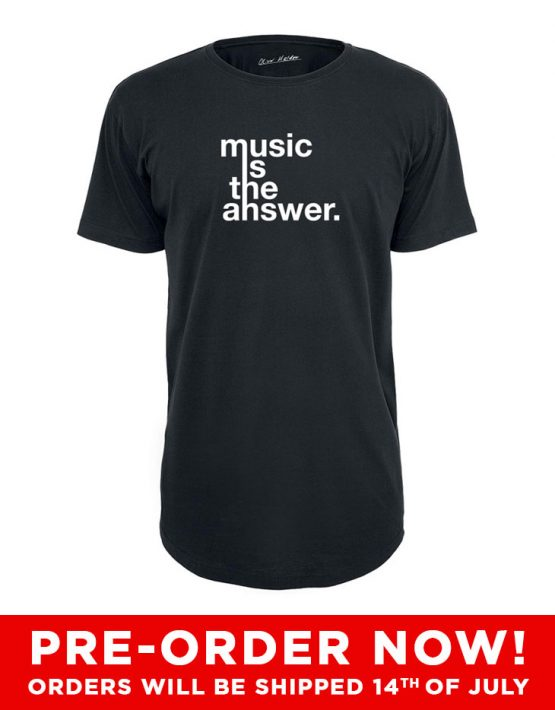pre-order-musicistheanswer-tee
