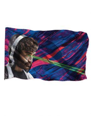 Oliver Heldens Laser Flag