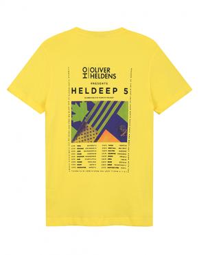 Oliver Heldens Heldeep Tour Tee Back