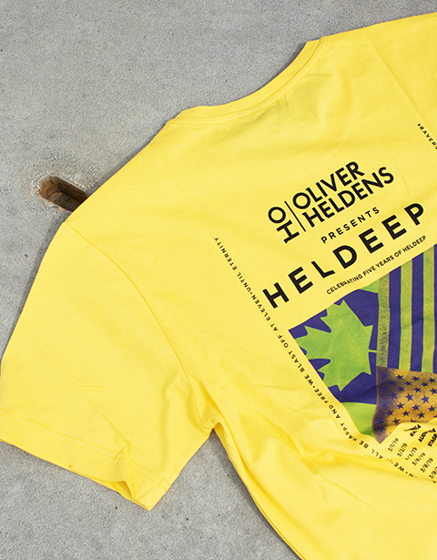 Heldeep Tour Tee